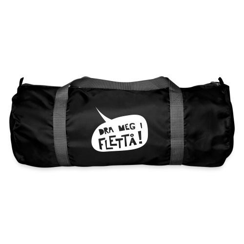 Sportsbag med «Dra meg i flettå» - Sportsbag