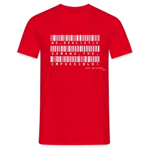 SLM - impossible bar code (mens classic) - Men's T-Shirt