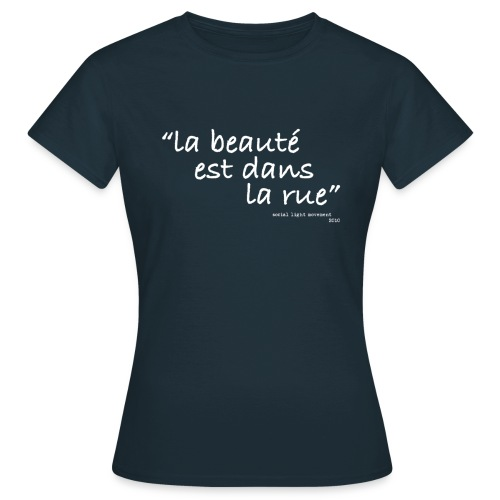 SLM dans la rue (womens classic) - Women's T-Shirt