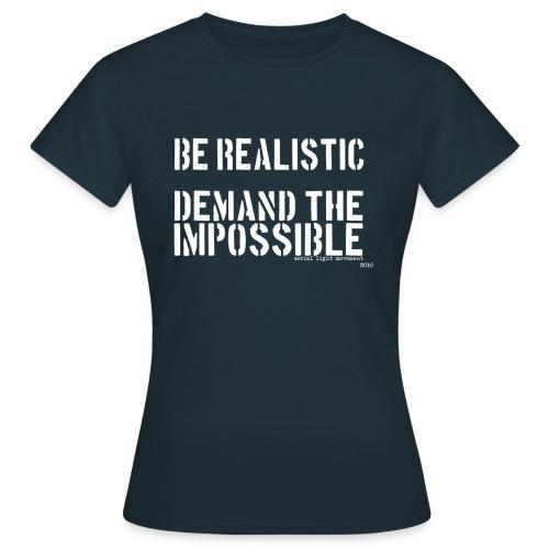 SLM impossible stencil (womens classic) - Women's T-Shirt