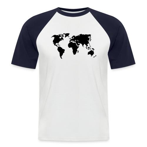 Camiseta femenina Estilo Mundo - Camiseta béisbol manga corta hombre