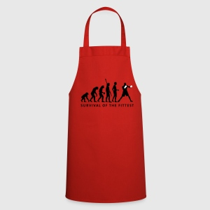 Red evolution_boxen_2c  Aprons - Cooking Apron