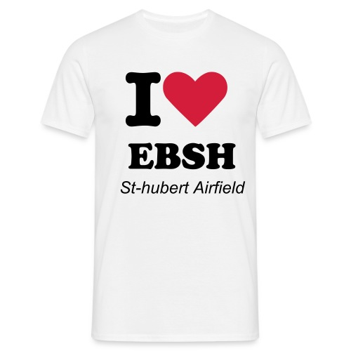 I love EBSH - T-shirt Homme