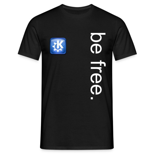 KDE - Be Free - Men's T-Shirt