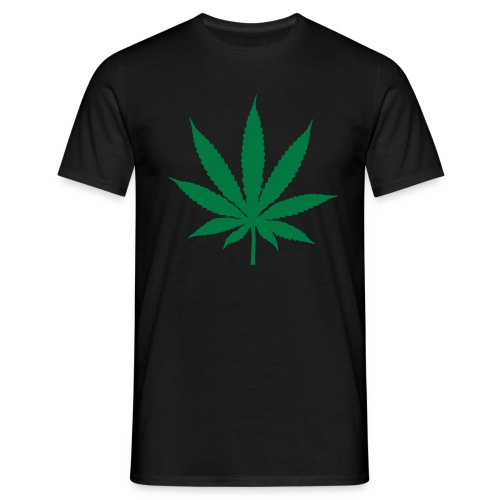 Cannabis Leaf - Men's T-Shirt