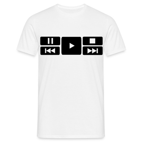Play The music! - Herre-T-shirt