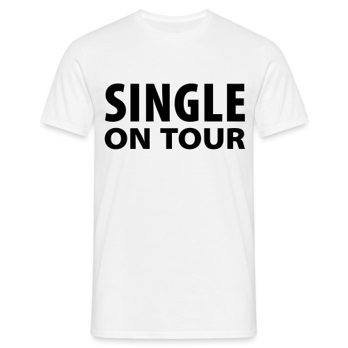 Single on tour - Herre-T-shirt