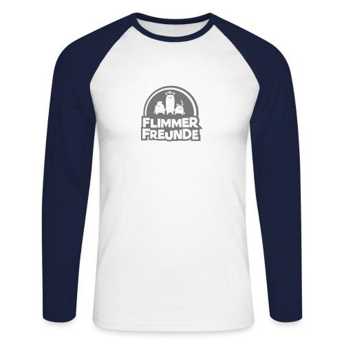 Männer Baseballshirt Langarm Flimmerfreunde - Männer Baseballshirt langarm