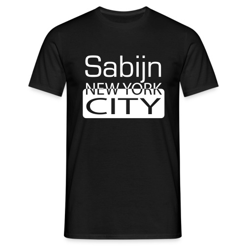New York City Sabijn mannen - Mannen T-shirt