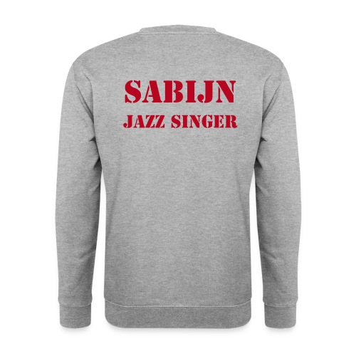 Sweater Sabijn jazz singer with humor mannen - Mannen sweater
