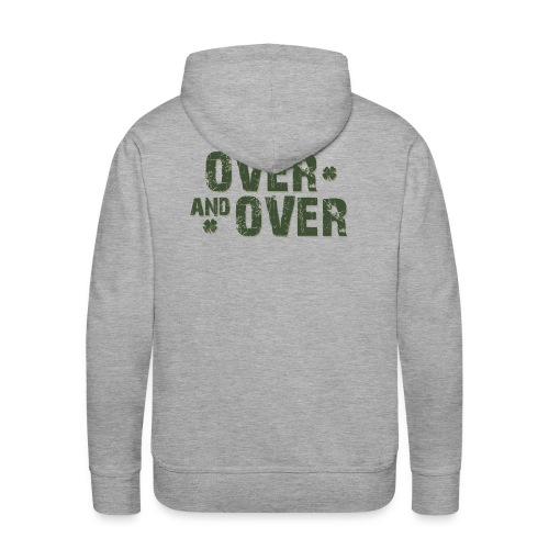Over & Over - Men's Premium Hoodie