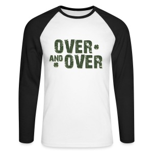 Over & Over - Men's Long Sleeve Baseball T-Shirt