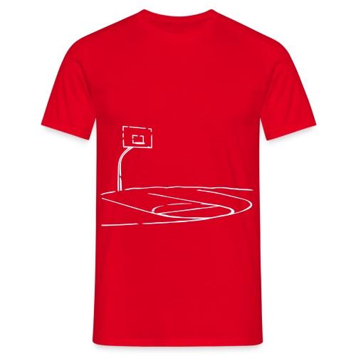 Pista de Basquet - Camiseta hombre