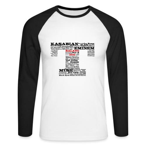 Balado 2010 - Men's Long Sleeve Baseball T-Shirt