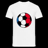 T-Shirts ~ Männer T-Shirt ~ Weiß ball T-Shirts