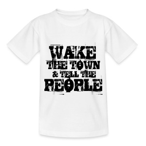 Wake The Town - Teenage T-shirt
