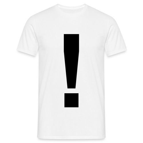 EXCLAMATION ! - Men's T-Shirt