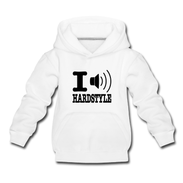 Light heather grey I speaker hardstyle / I love hardstyle Kids' Tops