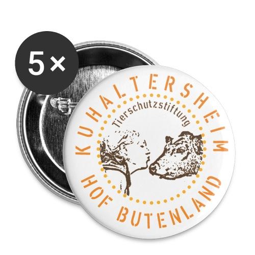 25mm Buttons Hof Butenland - Buttons klein 25 mm (5er Pack)
