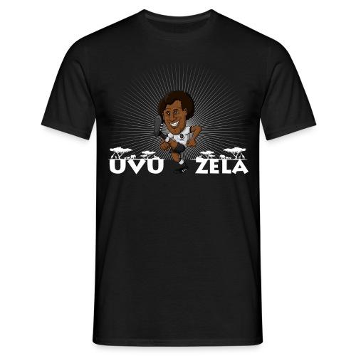 UVUZELA Herren Shirt (weiß) - Männer T-Shirt