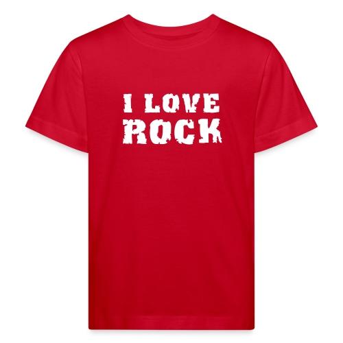 T-Shirt i Love Rock - T-shirt bio Enfant