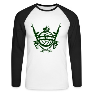 Hibs Army - Men's Long Sleeve Baseball T-Shirt