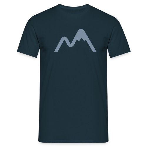Mens Mountain Logo Short Sleeve - Men's T-Shirt