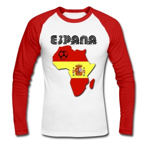 Espana in Africa - Men's Long Sleeve Baseball T-Shirt