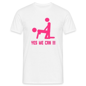 yes we can - Miesten t-paita