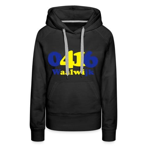 Women: 0416 Waalwijk sweater - Vrouwen Premium hoodie