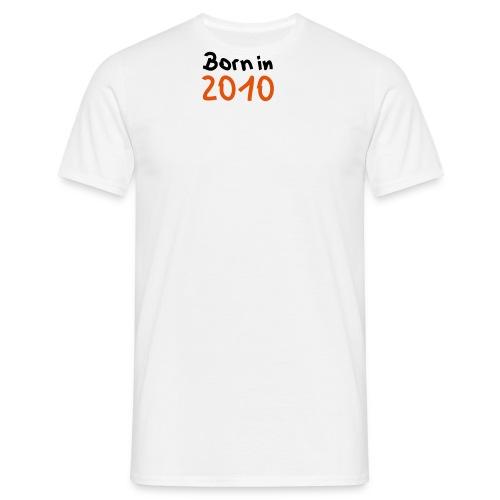 I LOVE SKIING - Herre-T-shirt