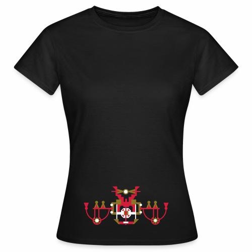T-shirt kassiek - Vrouwen T-shirt