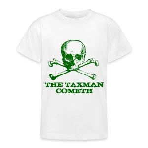 The Taxman Cometh - Teenage T-shirt