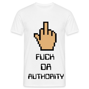 FUCK DA AUTHORITY - T-shirt Homme