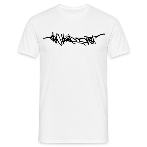 Logo Shirt - Black Print - Männer T-Shirt