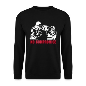 NO COMPROMISE FIGHT Sweatshirt - Männer Pullover