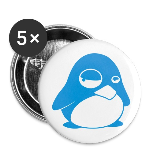 Club Penguin Ilan6 Bage - Buttons large 2.2''/56 mm (5-pack)
