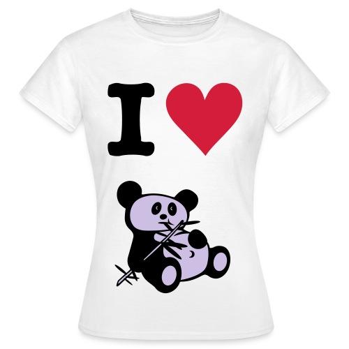 Le t-shirt classe du panda - T-shirt Femme