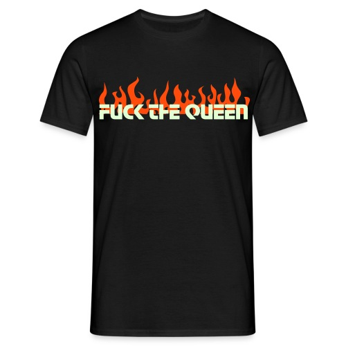 fuck the queen - T-shirt Homme
