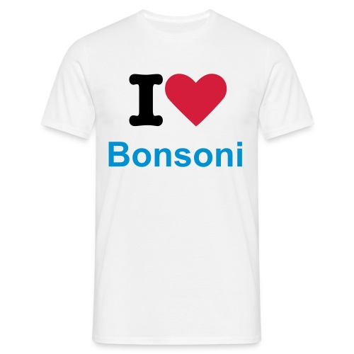 I Heart Bonsoni - Men's T-Shirt