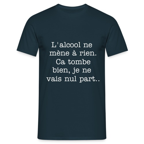 Alcool - T-shirt Homme