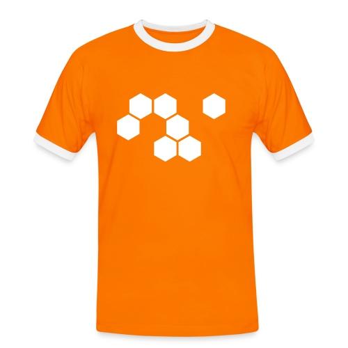 Official jLyN.de Shirt - Männer Kontrast-T-Shirt
