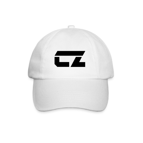CZ-Audio Baseball Cap (White/black) - Baseball Cap