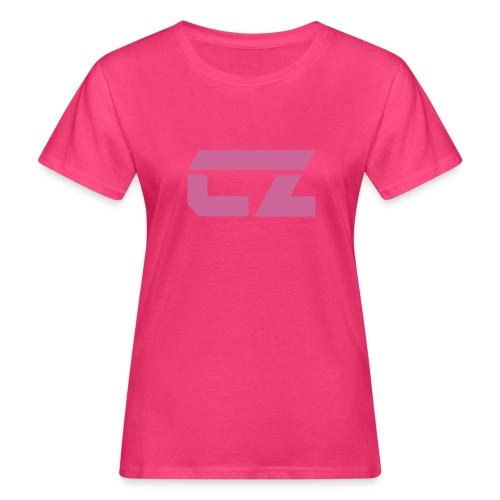 CZ-Audio Women's Organic T-Shirt (Pink/pink glitter) - Women's Organic T-Shirt