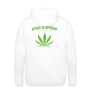 grass is greener - Männer Premium Hoodie