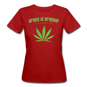 grass is greener - Frauen Bio-T-Shirt