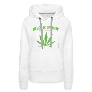 grass is greener - Frauen Premium Hoodie