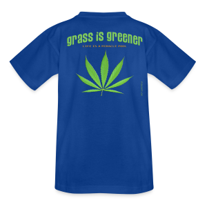 grass is greener - Teenager T-Shirt