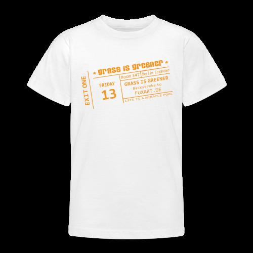 grass is greener - Teenager T-Shirt