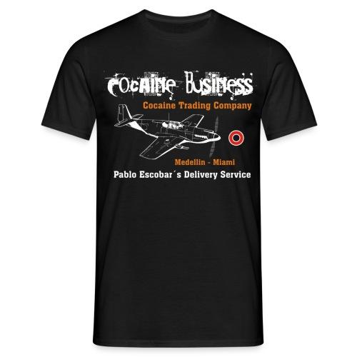 Pablo Escobar - Cocaine Trading Company - Männer T-Shirt